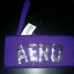 NWT Aeropostale lg wristlet/wallet